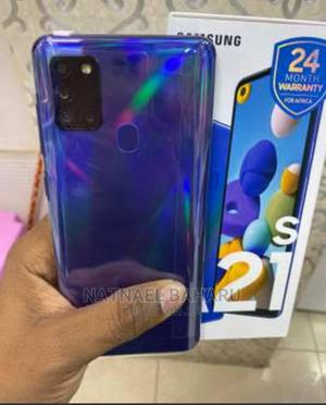 Samsung Galaxy A21s 64 GB Blue   Mobile Phones for sale in Addis Ababa, Kirkos