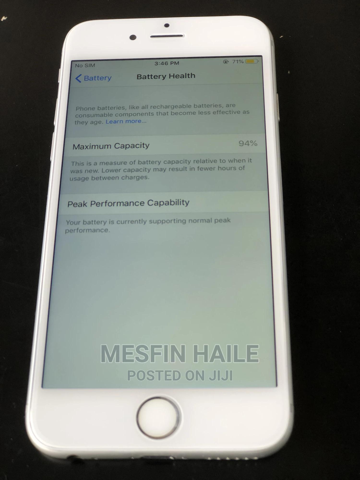 Apple iPhone 6 128 GB Silver