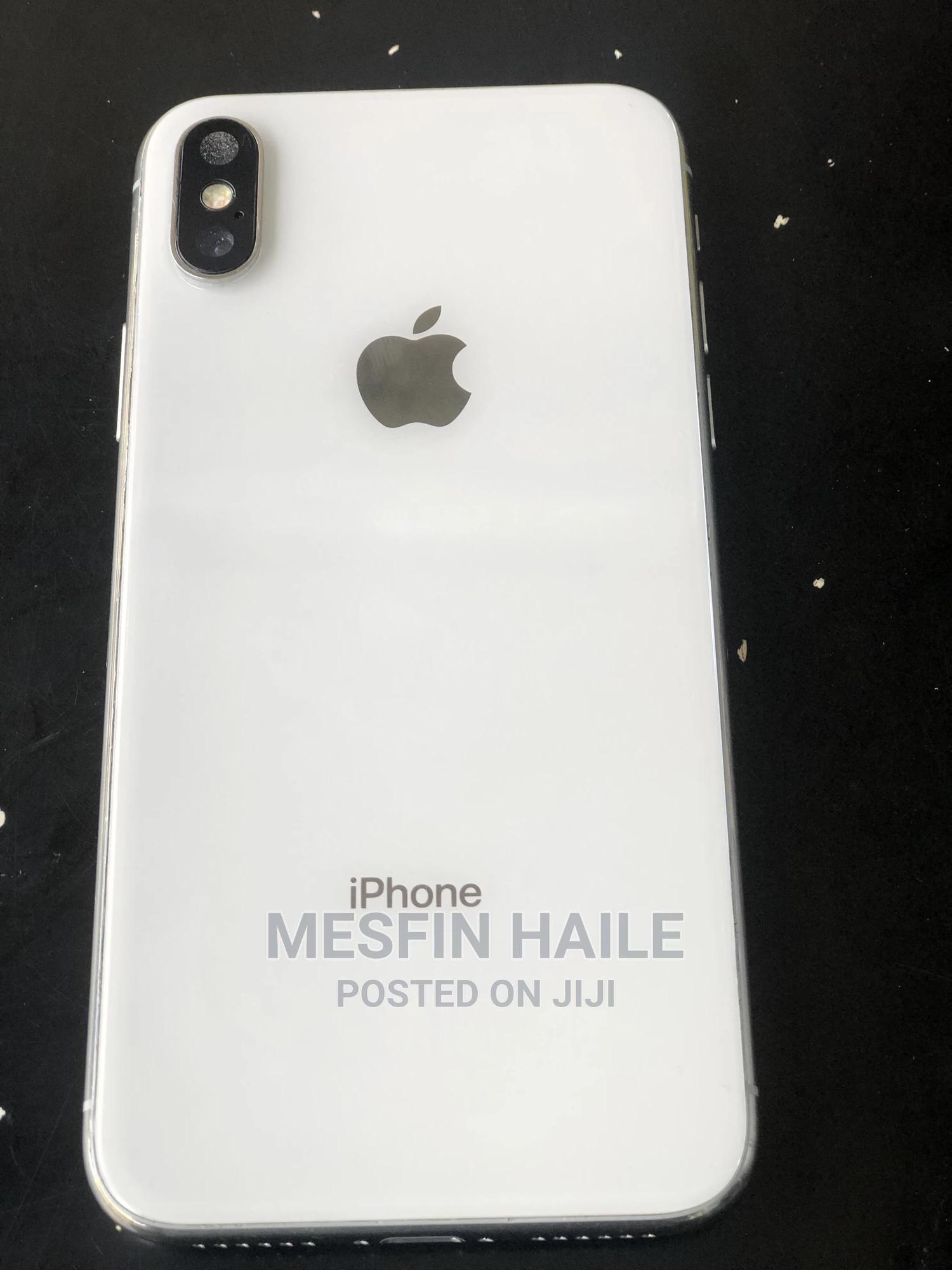 Apple iPhone X 64 GB White | Mobile Phones for sale in Addis Ketema, Addis Ababa, Ethiopia