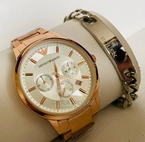 Emporio Armani With a Gift Bracelet | Watches for sale in Addis Ababa, Bole