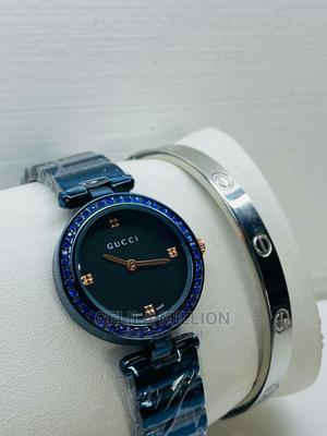 GUCCI Watch With a Gift Bracelet | Watches for sale in Addis Ababa, Bole