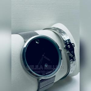 MOVADO Watch With a Gift Box | Watches for sale in Addis Ababa, Bole