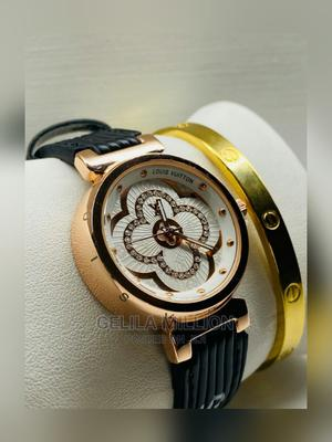 LOUIS VUITTON Watch With a Gift Box   Watches for sale in Addis Ababa, Bole