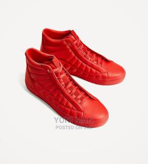 Zara Red Sneakers | Shoes for sale in Addis Ababa, Lideta