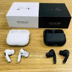 Airpod Pro Black White With 90days Warranty | Accessories for Mobile Phones & Tablets for sale in Addis Ababa, Addis Ketema