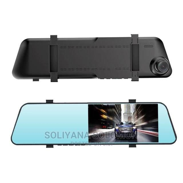 Rear View Mirror Dual Channel Recording
