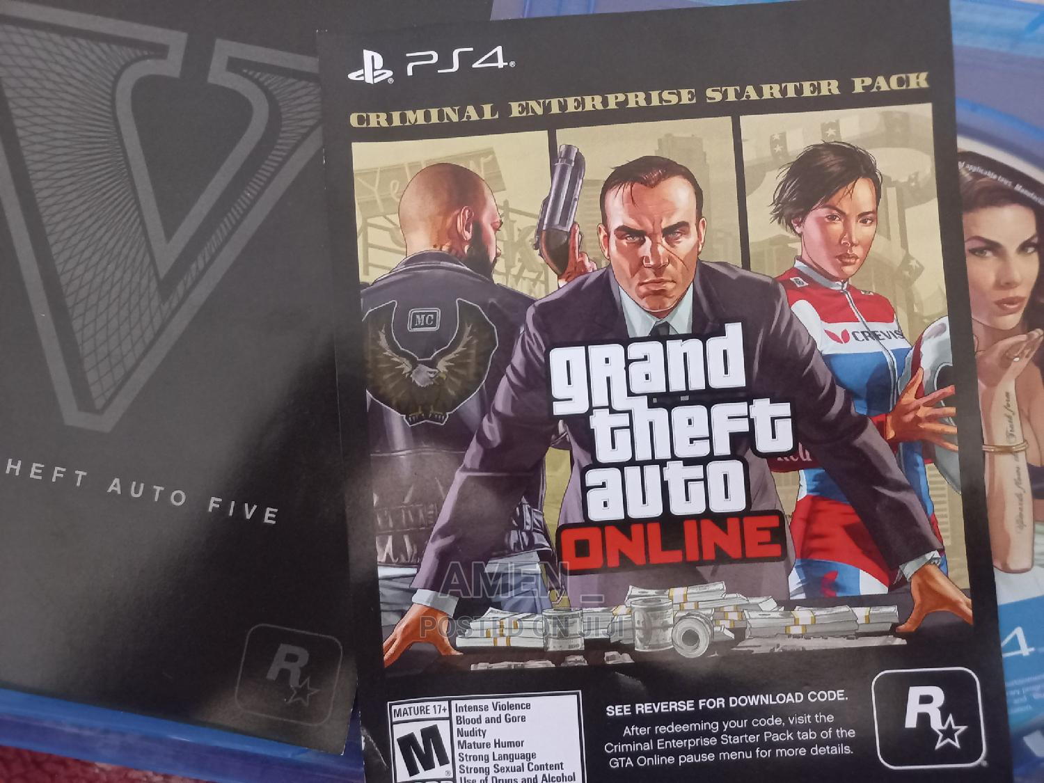 GTA v (Premium Edition) | Video Games for sale in Yeka, Addis Ababa, Ethiopia