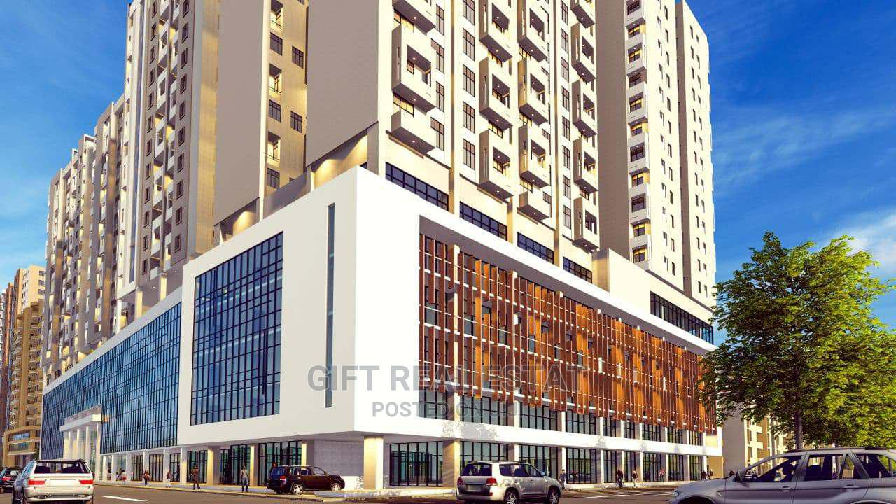 Shops and Apartement