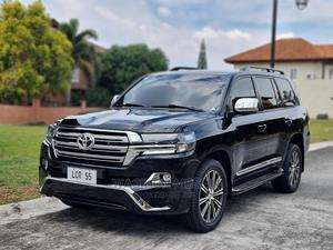 New Toyota Land Cruiser 2021 4.5 V8 VXR Black | Cars for sale in Addis Ababa, Bole