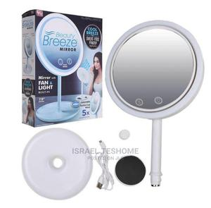 Makeup Mirror With LED Light and Fan | Tools & Accessories for sale in Addis Ababa, Bole