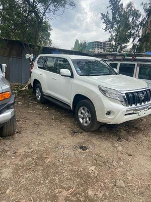 Toyota Land Cruiser Prado 2015 White | Cars for sale in Addis Ababa, Bole