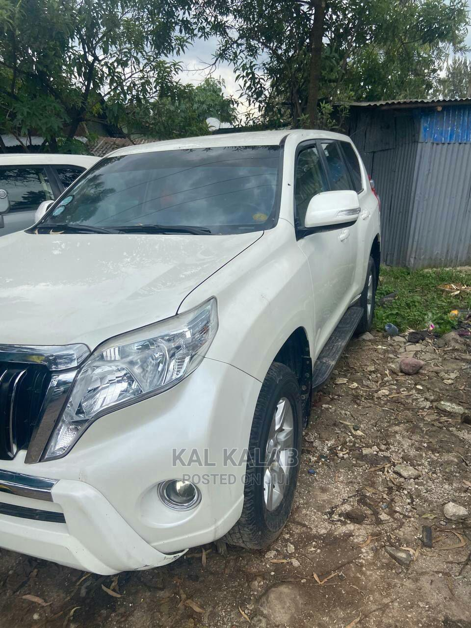 Toyota Land Cruiser Prado 2015 White | Cars for sale in Bole, Addis Ababa, Ethiopia