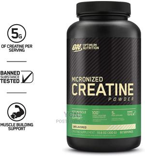 Optimum Nutrition Creatine Powder 300 Grams-60 Servings | Vitamins & Supplements for sale in Addis Ababa, Nifas Silk-Lafto