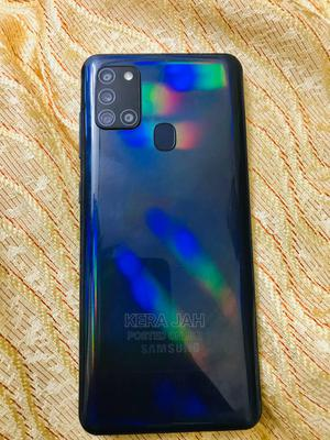 Samsung Galaxy A21s 64 GB Blue | Mobile Phones for sale in Addis Ababa, Kolfe Keranio