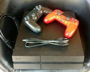 Ps4 Fat + 2 Joysticks + 15 Games | Video Game Consoles for sale in Addis Ababa, Bole