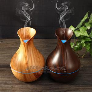 Air Humidifier Usb Aroma Diffuse Mini Wood Grai | Home Appliances for sale in Addis Ababa, Kirkos