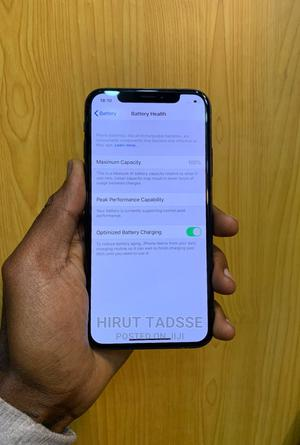 New Apple iPhone X 64 GB Black | Mobile Phones for sale in Addis Ababa, Addis Ketema