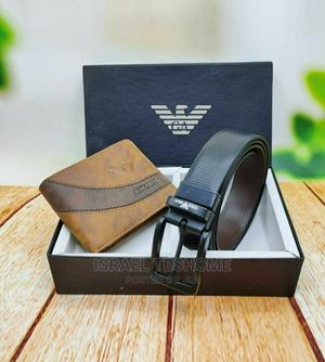 Wallet and Belt Combo Original Brands   Clothing Accessories for sale in Addis Ababa, Bole