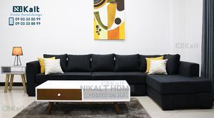 L-Shape Sofa | Furniture for sale in Addis Ababa, Nifas Silk-Lafto