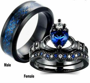 Blue Couple Ring | Jewelry for sale in Addis Ababa, Bole