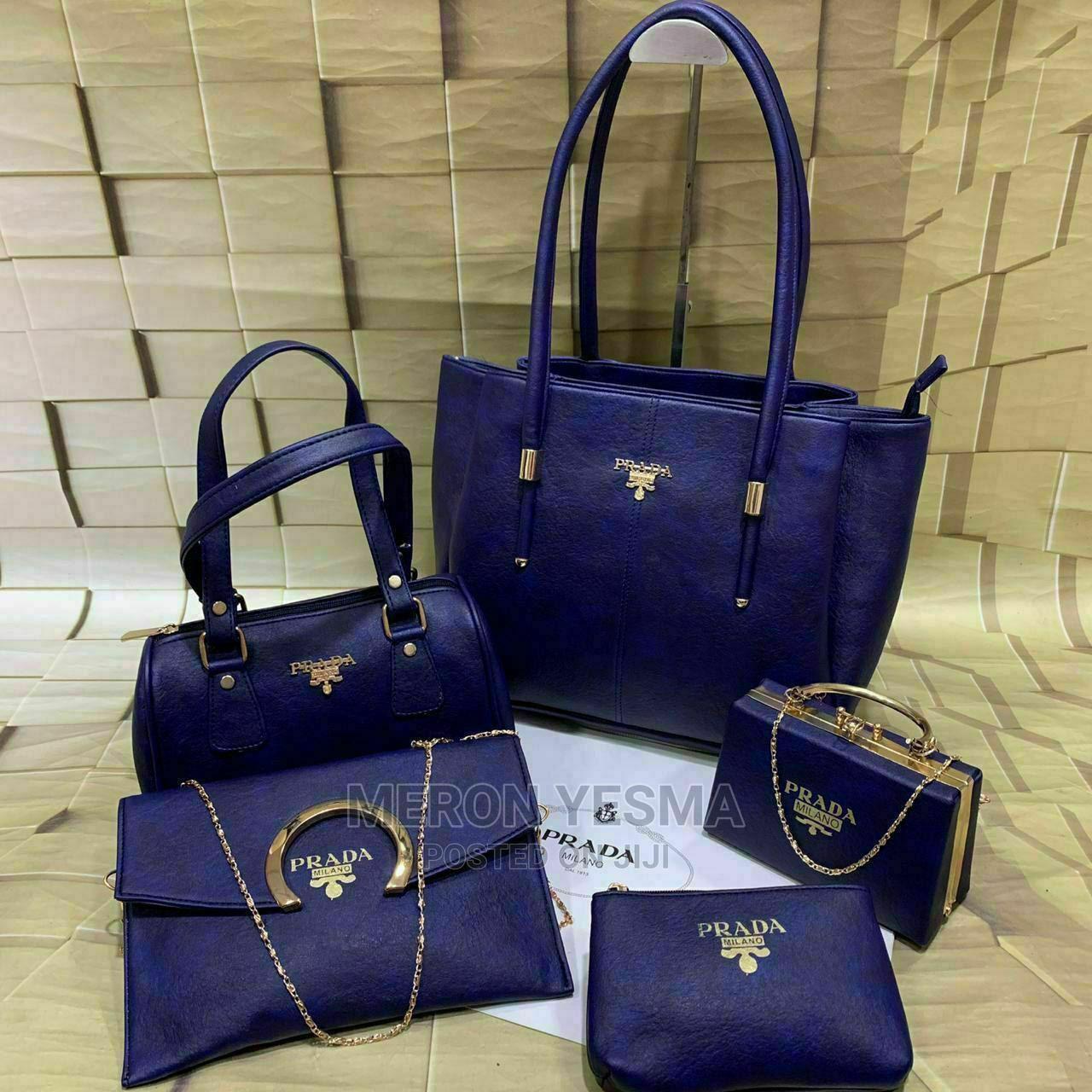 Prada 5 in 1 Ladies Bag   Bags for sale in Nifas Silk-Lafto, Addis Ababa, Ethiopia