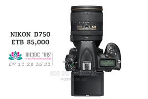 Nikon D750 Full Frame Professional Photo and Video Camera   Photo & Video Cameras for sale in Addis Ababa, Akaky Kaliti
