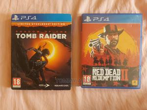 Tomb Raider and Red Dead Redemption 2 Ps4 Games | Video Games for sale in Addis Ababa, Bole
