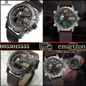 2021 New Model Original Luxury NAVIFORCE የወንድ ሰአት   Watches for sale in Addis Ababa, Bole