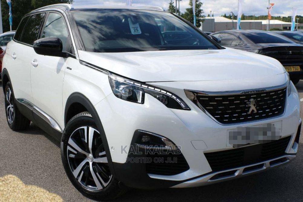 New Peugeot 5008 2020 White