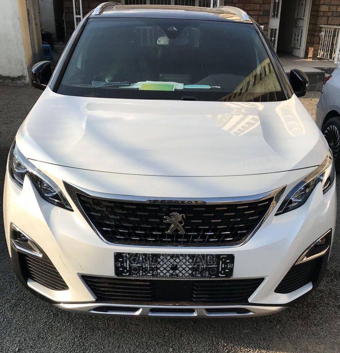 New Peugeot 5008 2020 White   Cars for sale in Bole, Addis Ababa, Ethiopia