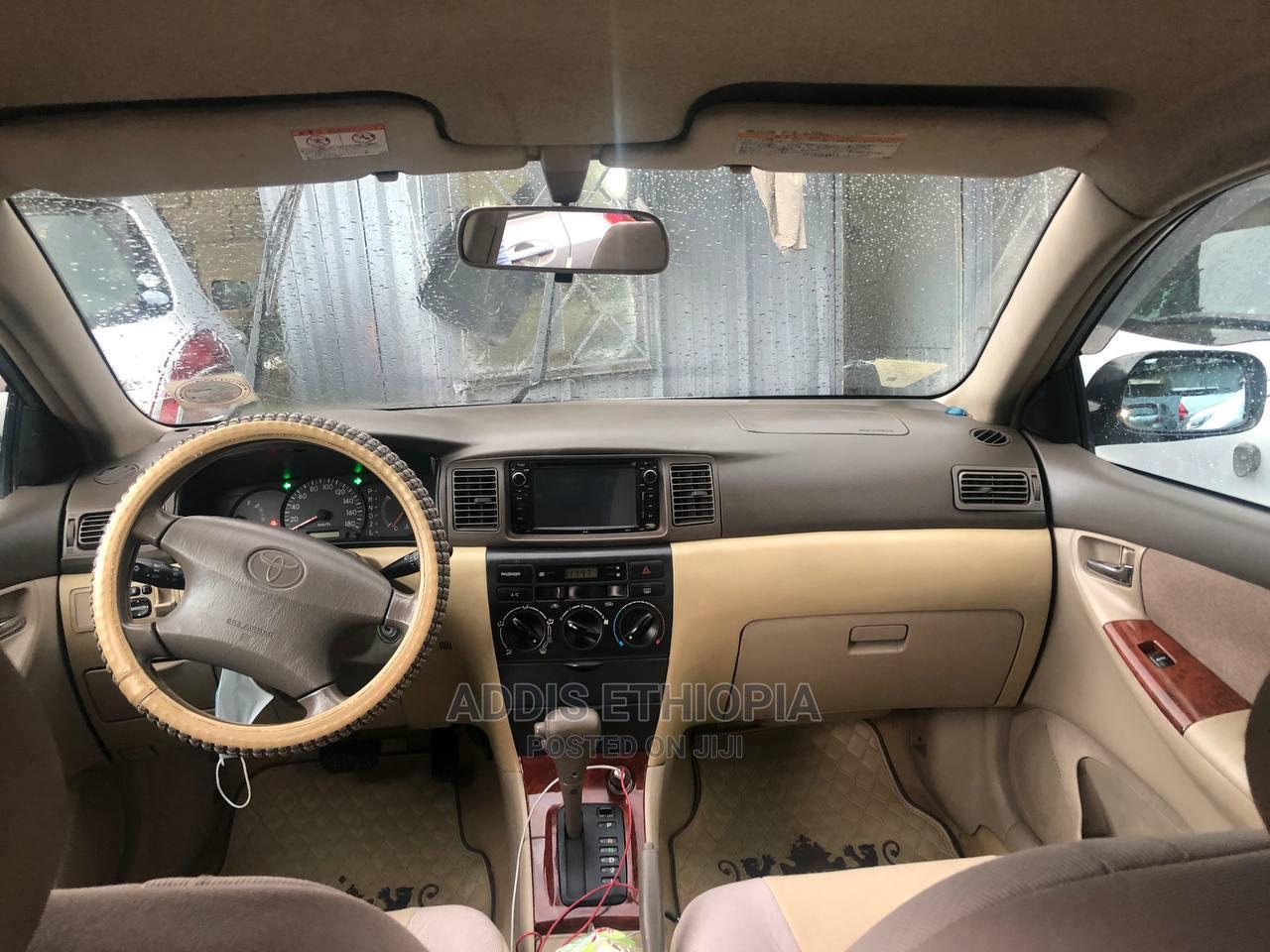 Toyota Corolla 2003 Sedan Automatic Gold | Cars for sale in Bole, Addis Ababa, Ethiopia