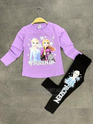 Disney Girl's Frozen 3 Pieces Girls Legging Set | Children's Clothing for sale in Addis Ababa, Bole