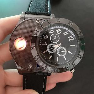 Rechargeable Windproof Lighter Watch   Watches for sale in Addis Ababa, Kolfe Keranio
