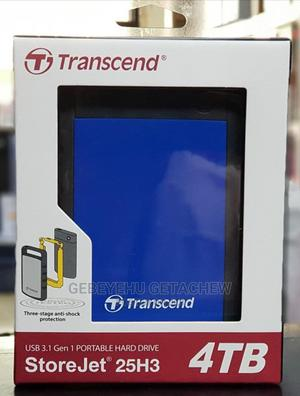Transcend 4TB Portable External Hard Disk   Computer Hardware for sale in Addis Ababa, Gullele