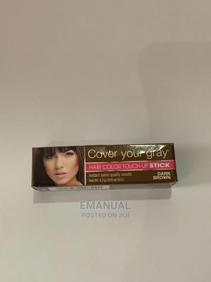 Hair Color Touch-Up Stick - Brown | Hair Beauty for sale in Addis Ababa, Nifas Silk-Lafto
