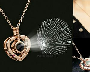 I Love U Projecting Necklaces | Jewelry for sale in Addis Ababa, Bole