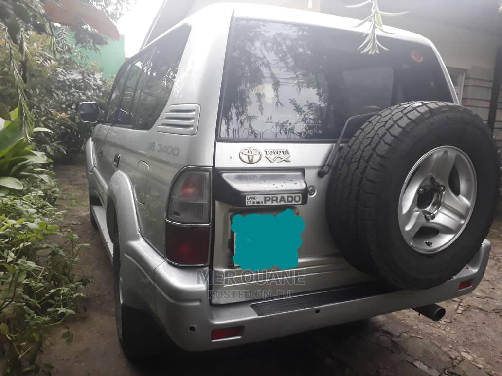 Toyota Land Cruiser Prado 2001 3.4 V6 Gray   Cars for sale in Bole, Addis Ababa, Ethiopia