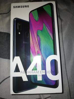New Samsung Galaxy A40 64 GB Black | Mobile Phones for sale in Addis Ababa, Gullele