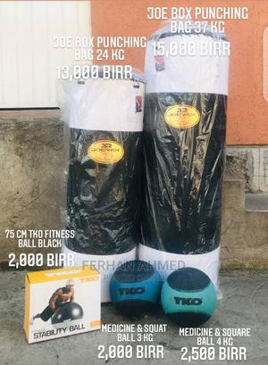 Punching Bag and Medicine Balls   Sports Equipment for sale in Addis Ababa, Bole