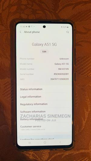 New Samsung Galaxy A51 5G 128 GB Black | Mobile Phones for sale in Addis Ababa, Nifas Silk-Lafto