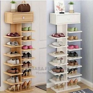 Standing Shoe Rack   Furniture for sale in Addis Ababa, Yeka