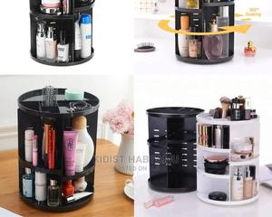 360 Rotating Makeup Organizer   Home Accessories for sale in Addis Ababa, Bole