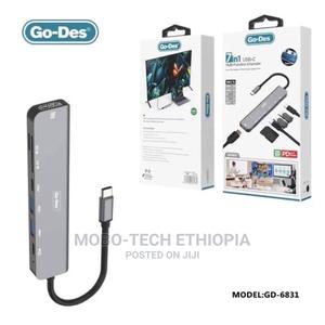 Go-Des 7-In 1 Hub   Networking Products for sale in Addis Ababa, Bole