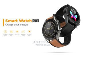 G-Tab GT1 Round Shape Smart Watch | Smart Watches & Trackers for sale in Addis Ababa, Lideta