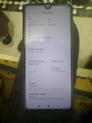 New Xiaomi Redmi Note 9 Pro 128 GB Blue   Mobile Phones for sale in Addis Ababa, Yeka