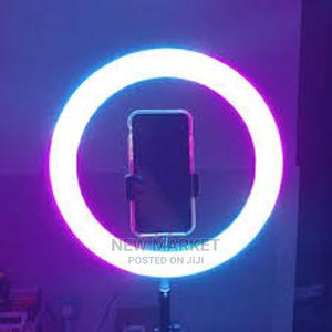 Ring Light With Stand With Phone Holder for Youtube | TIK T | Accessories for Mobile Phones & Tablets for sale in Addis Ababa, Yeka