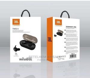 JBL TWS4 Wireless Earphone Bluetooth TWS 4 Stereo by Harman | Headphones for sale in Addis Ababa, Bole