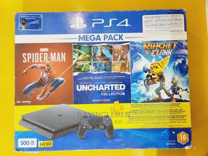 Playstation 4 With 3 PS Hits Game Bundle (PS4)   Video Game Consoles for sale in Addis Ababa, Bole