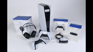 The Brand New Playstation 5 With Headphone and 3 Games | Video Game Consoles for sale in Oromia Region, Adama