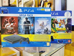 Playstation 4 With 3 PS Hits Game Bundle (PS4) | Video Game Consoles for sale in Addis Ababa, Bole